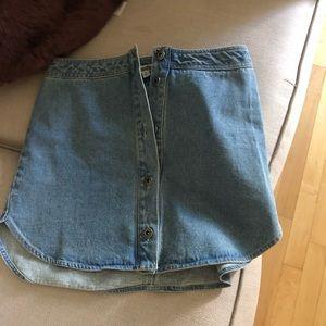Jean skirt from NORDSTROM